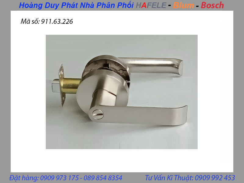 tay nắm gạt WC hafele 911.63.226