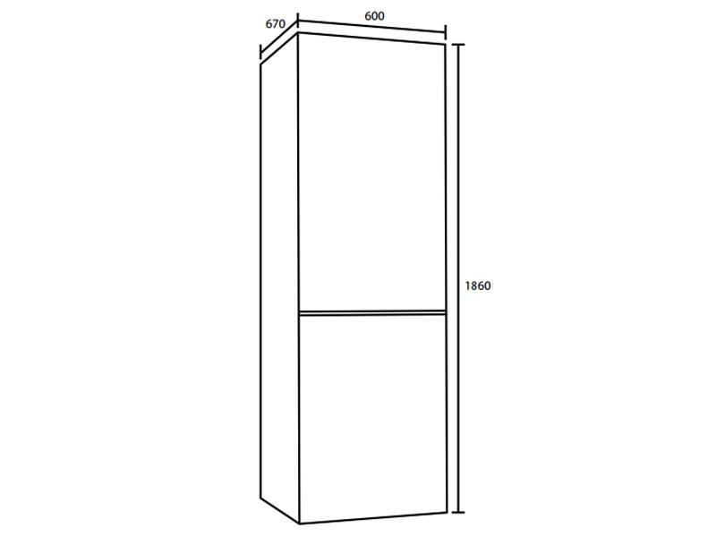 Tủ lạnh Hafele HF-BF319 535.12.480