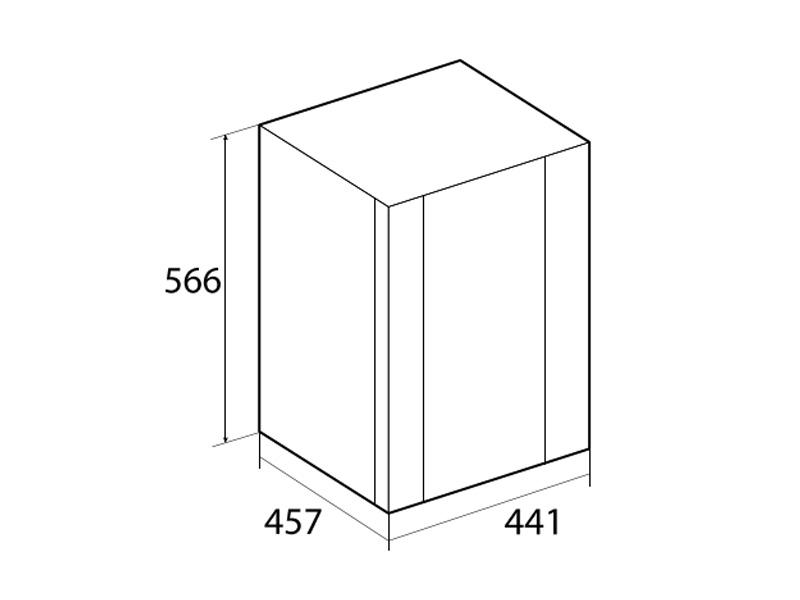 Tủ lạnh Mini Hafele 40L HF-M40G 536.14.011