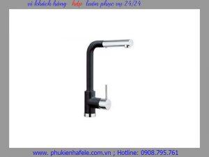 Vòi rửa chén Hafele màu đen HF-GC301 569.15.301
