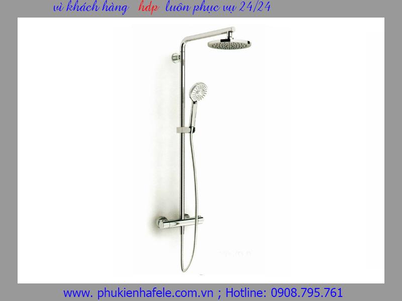 Cây sen tắm đứng có bộ điều nhiệt Hafele 589.85.004