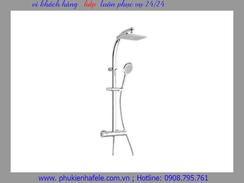 Cây sen tắm đứng điều nhiệt Pearl Hafele 589.98.150