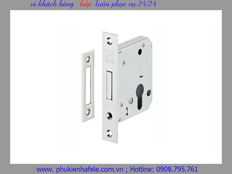Thân khóa chốt chết D55/0A Inox mờ 911.22.490