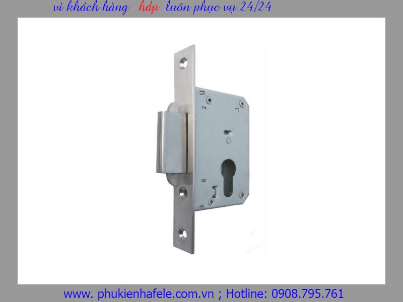 Thân khóa cho cửa trượt S40/0A Inox mờ 911.26.277