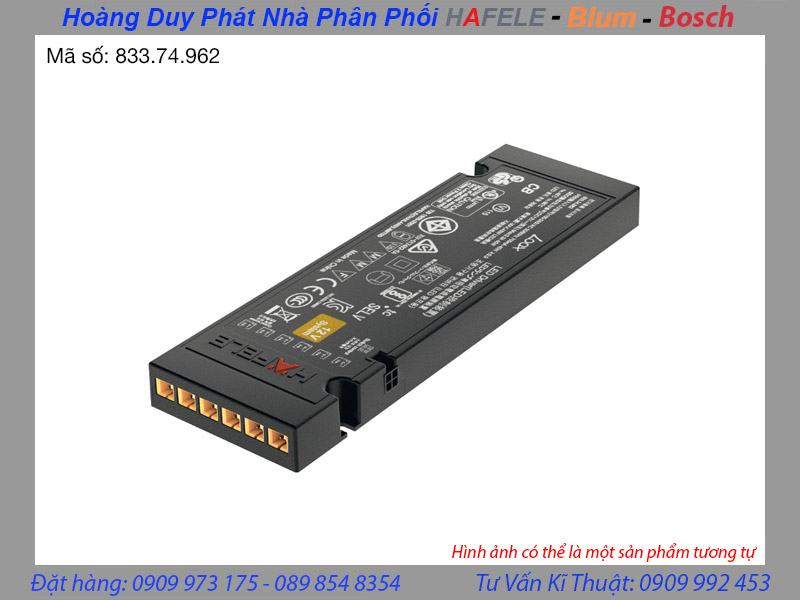 adapter hafele 12v 833.74.962