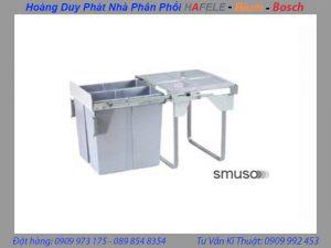 thùng rác hafele âm tủ