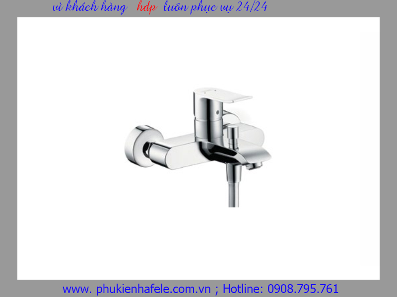 Bộ trộn bồn tắm Metris Hafele 589.50.211