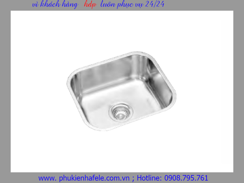 Chậu rửa inox Hafele HS-S4438 567.24.000