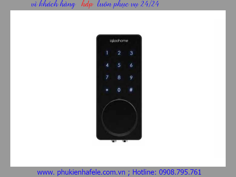 Smart Lock Deadbolt 02 Khóa điện tử Hafele 912.05.380