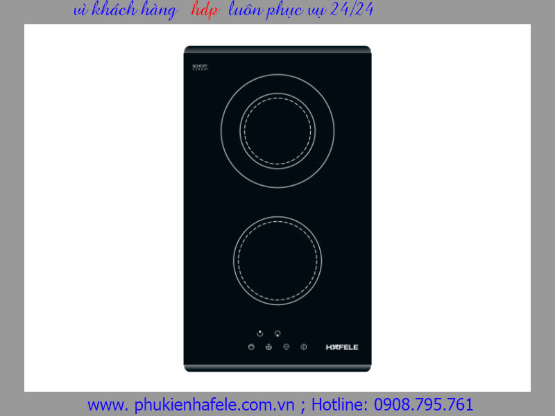 Bếp điện Hafele 3 vùng nấu HC-R302A 536.01.620