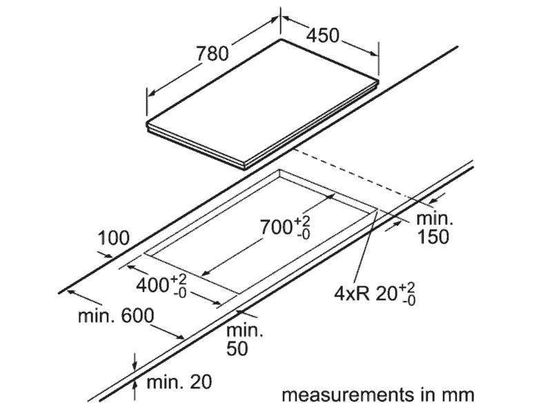 bản vẽ kỹ thuật bếp bosch PPI82560MS