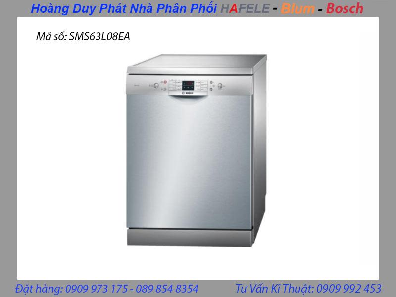 máy rửa chén bosch SMS63L08EA