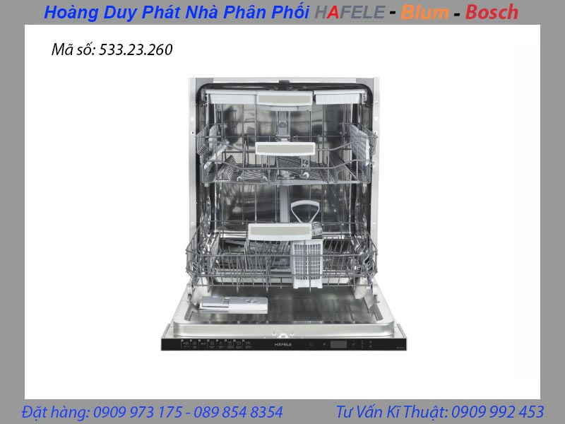 máy rửa chén âm toàn phần hafele 533.23.260