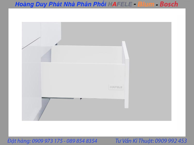Ray hộp Hafele Alto S chiều cao 170mm