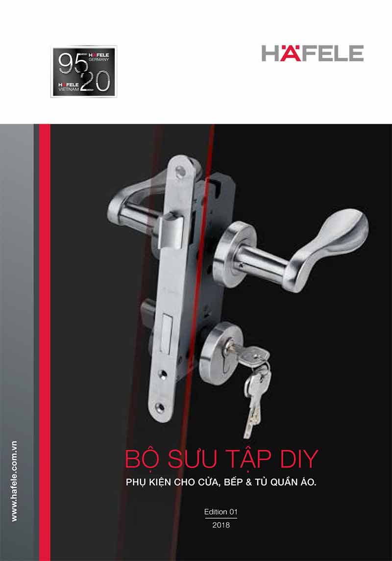 catalogue phụ kiện tay nắm hafele