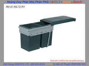 thùng rác âm tủ hafele 502.72.761