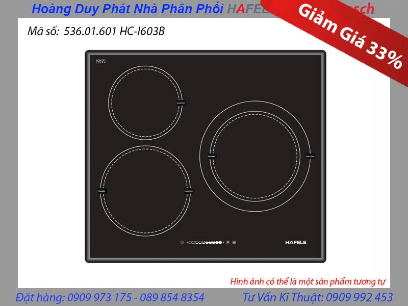 Bếp từ Hafele 3 vùng nấu HC-1603B 536.01.601