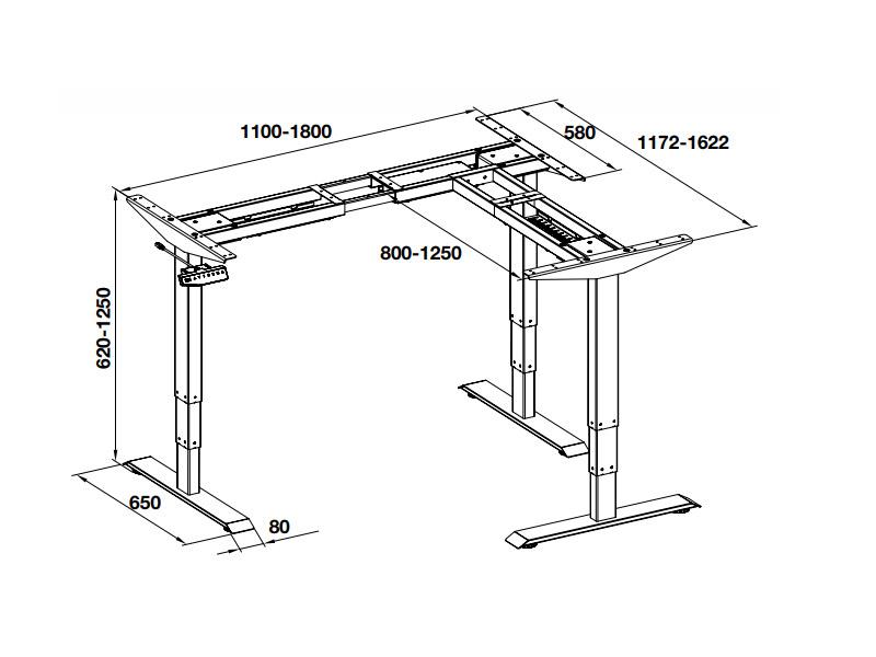 bản vẽ kỹ thuật bàn điện tử 2 chấn Häfele 633.44.042