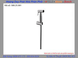 Vòi xịt vệ sinh có giá đỡ và dây sen 120cm Häfele 589.25.991