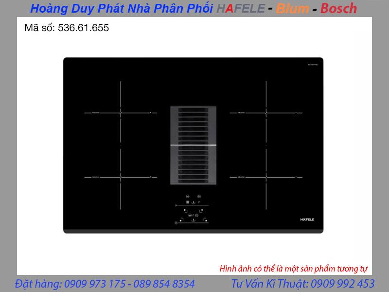 Bếp từ kết hợp hút mùi 4 vùng nấu hafele HC-IHH77D 536.61.655