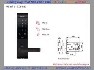 khoá điện tử hafele EL7500 TC 912.05.682