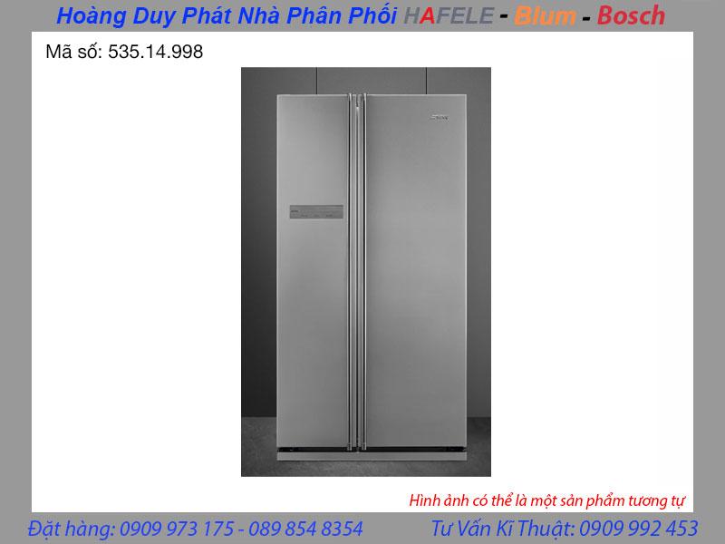 Tủ lạnh Side By Side Smeg SBS660X 535.14.998